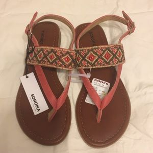 Sonoma Size 6 sandals NWT